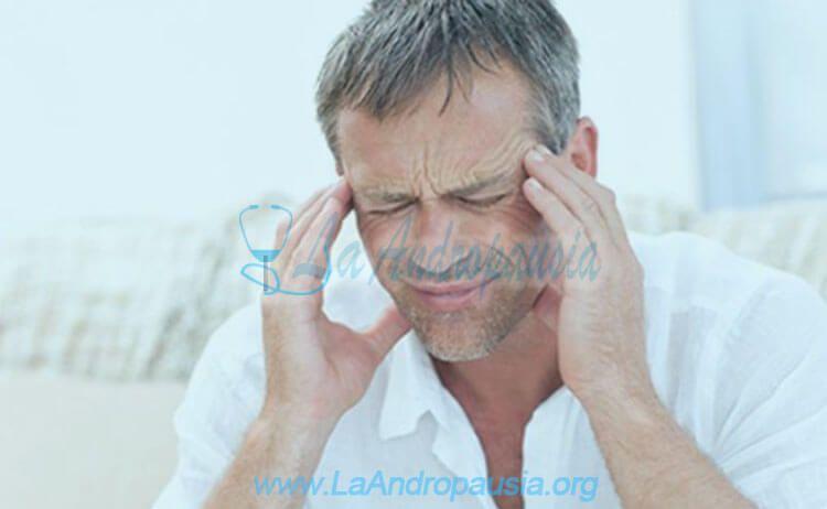 Síntomas de la andropausia prematura