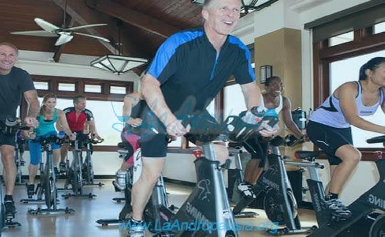 Bicicletas estáticas, una alternativa saludable en la andropausia
