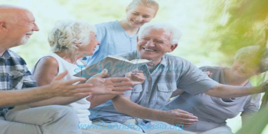 Terapias grupales en personas de la tercera edad