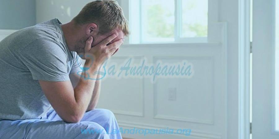 Síntomas de la depresión en la andropausia