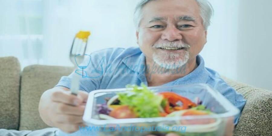 Consejos para una mejor dieta en la andropausia