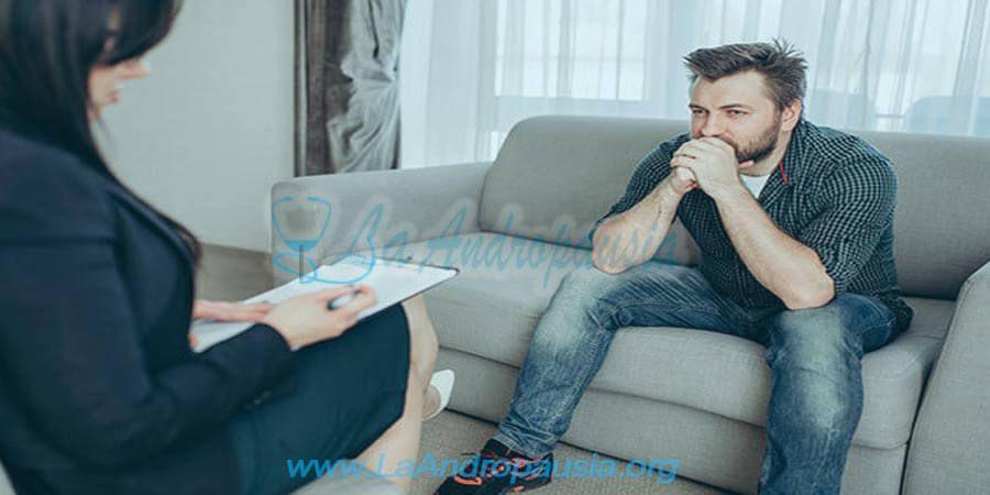 Terapia psicológica en la andropausia