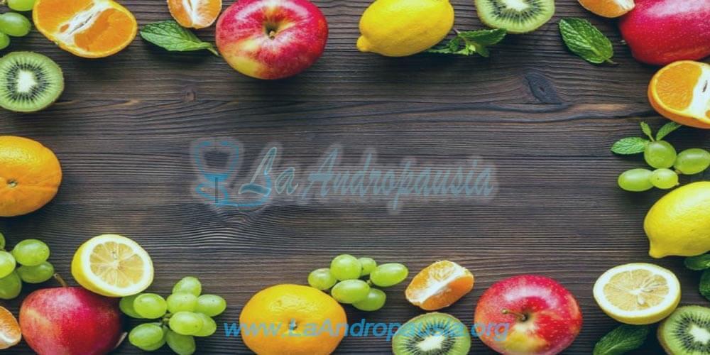 Frutas y verduras ricas en vitaminas
