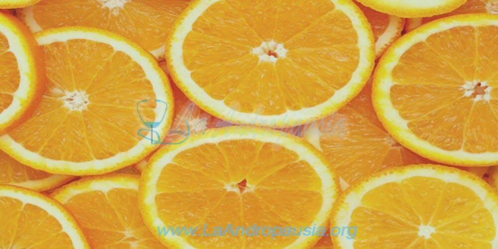 Rodajas de naranjas