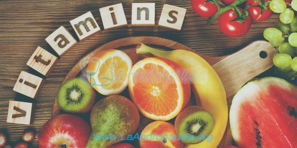 Vitaminas para la andropausia